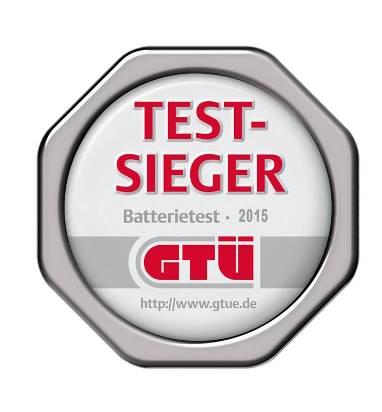 Το 2015-2016 βραβείο GTÜ στης μπαταρίες φωτοβολταϊκών