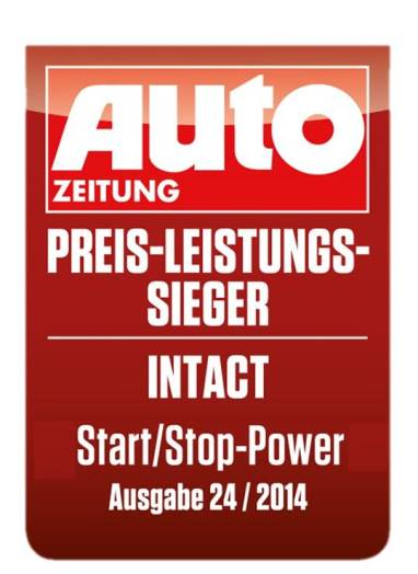 To 2014 ως καλύτερη μπαταρία αυτοκινήτου στο περιοδικό AUTO ZEITUNG