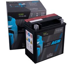 Μπαταρία Μοτοσυκλέτας YTX16-BS 14AH BIKE POWER AGM | battery-expert.gr