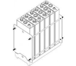 σύστημα στήριξης για μπαταρίες 12V