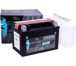 Μπαταρία Μοτοσυκλέτας intAct YTX9-BS 8AH | battery-expert.gr