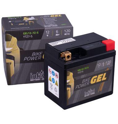 Μπαταρία Μοτοσυκλέτας intAct Gel YTZ7-S | battery-expert.gr