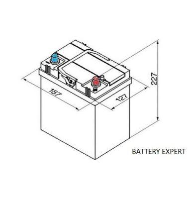 Μπαταρία Αυτοκινήτου START POWER 53520 35AH 275A | battery-expert.gr