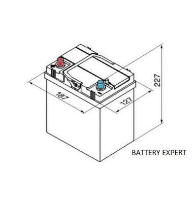 Μπαταρία Αυτοκινήτου START POWER 53522 35AH 275A CCA | battery-expert.gr