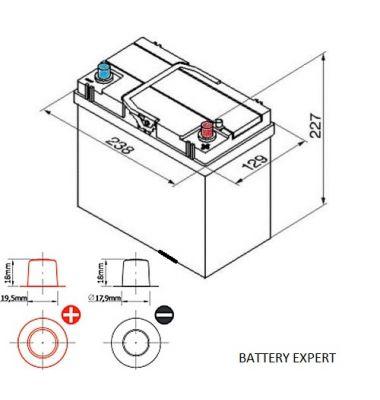 Μπαταρία Αυτοκινήτου START POWER 54523 45AH | battery-expert.gr