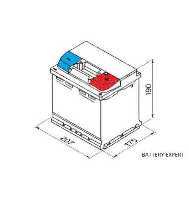 Μπαταρία Αυτοκινήτου START POWER 55066 50AH 420a | battery-expert.gr