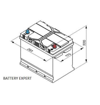 Μπαταρία Αυτοκινήτου START POWER 57029 70AH 550A | battery-expert.gr