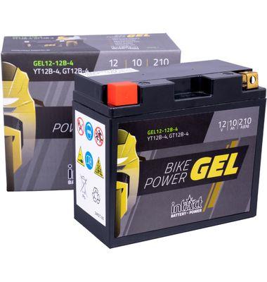 Μπαταρία Μοτοσυκλέτας INTACT GEL YT12B-4 10AH | battery-expert.gr