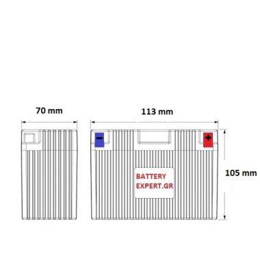 Μπαταρία Μοτοσυκλέτας YTX5L-BS | battery-expert.gr