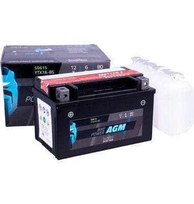 Μπαταρία Μοτοσυκλέτας INTACT YTX7A-BS 6AH | battery-expert.gr