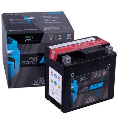 Μπαταρία Μοτοσυκλέτας YTX5L-BS 4AH AGM | battery-expert.gr